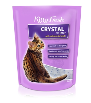 How Crystal Cat Litter Works