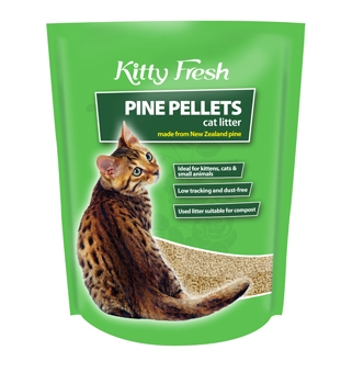 Buy This Kitty Fresh Pine Pellets At Our New Zealand