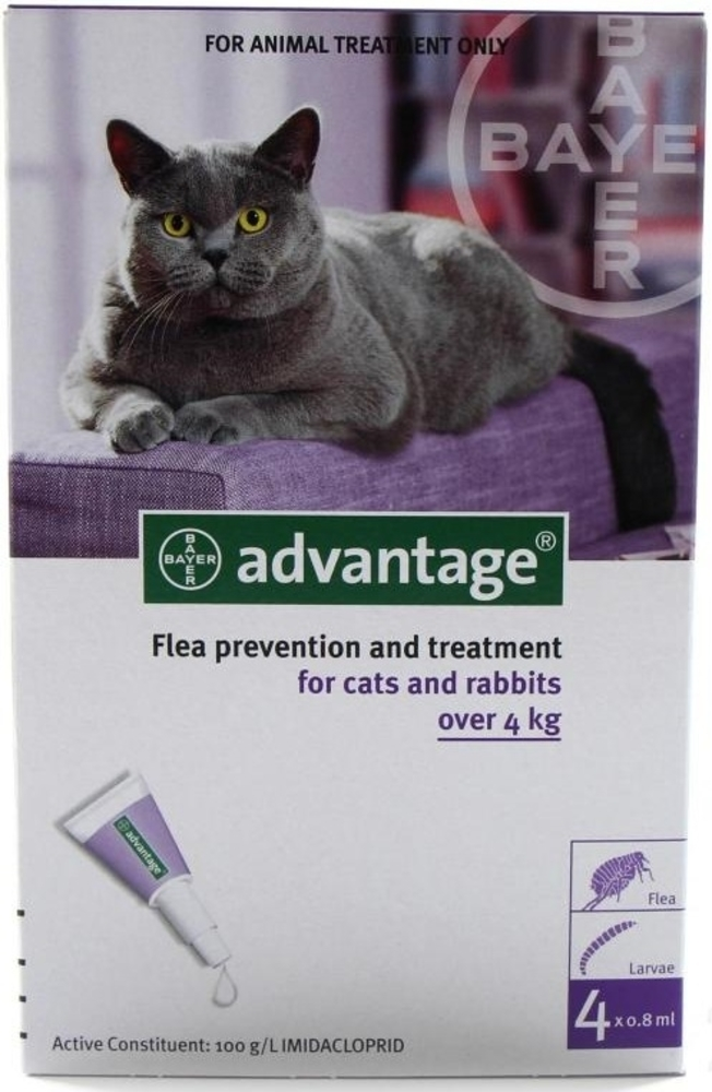 Pet Central Christchurch Advantage Flea For Large Cats